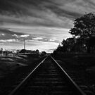Main North Line from Barleyfields Crossing, Uralla by Kitsmumma
