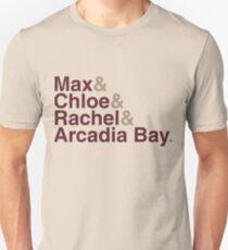 Life Is Strange Names Unisex T-Shirt