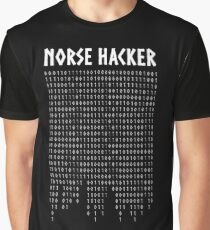 Norse Hacker Graphic T-Shirt