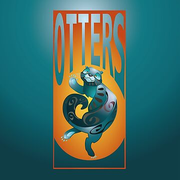 BEARS TOTEM- the otter by OHBEARON