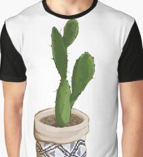 Cactus Opuntia Graphic T-Shirt