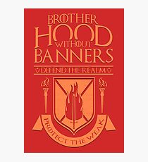 Brotherhood Without Banners Photographic Print