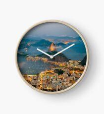 RIO DE JANEIRO, by E. Giupponi Clock