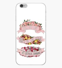 Emo Trinity Floral iPhone Case