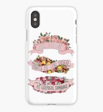 Emo Trinity Floral iPhone Case/Skin