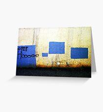 Hootie Hoo Greeting Card