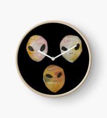 Alien Illuminati Clock