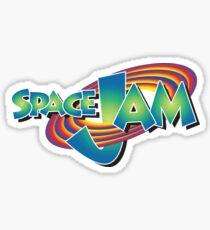 Space Jam Logo Aufkleber Sticker