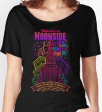 Welcome to Moonside Women's Relaxed Fit T-Shirt