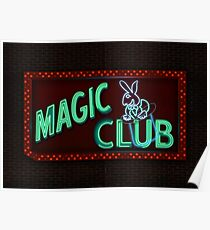 MAGIC CLUB Poster