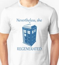 Nevertheless, She Regenerated DW13 Unisex T-Shirt