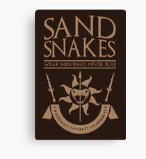 Sand Snakes Canvas Print