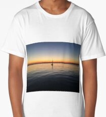 cape cod sunset 2 Long T-Shirt
