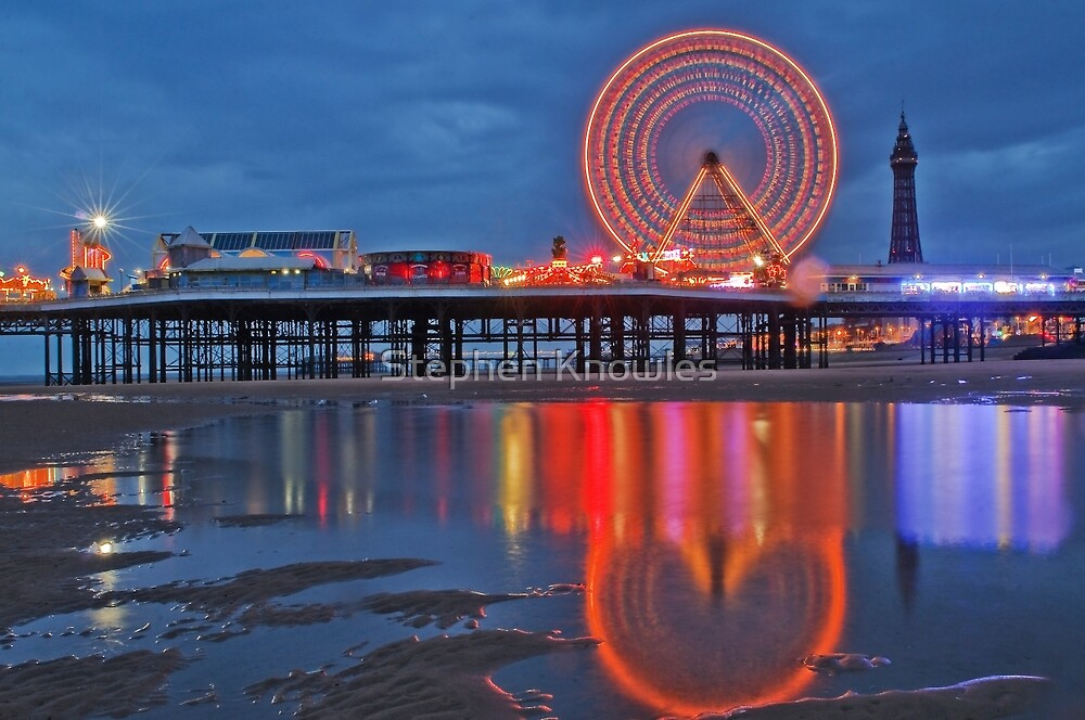 Blackpool Central Pier  by Stephen Knowles