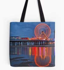 Blackpool Central Pier  Tote Bag