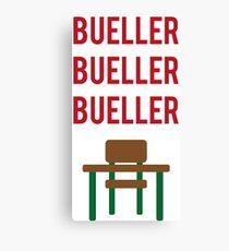 Ferris Bueller's day off Canvas Print