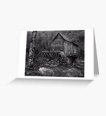 Glade Creek Grist Mill  Babcock SP  WVA Greeting Card