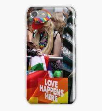 Love Happens Here iPhone Case/Skin