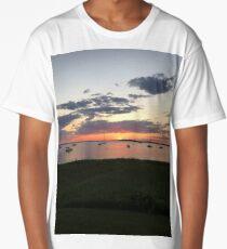 cape cod sunset 3 Long T-Shirt