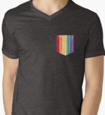 get your rainbow on Men's V-Neck T-Shirt
