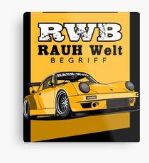 RWB Metal Print