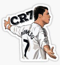 CR7 Cristiano Ronaldo Real Madrid Stickers Sticker