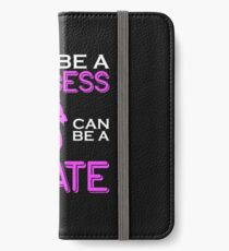 Why Be A Princess When You Can Pirate Girls Womens Tshirt iPhone Wallet/Case/Skin