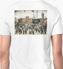 LOWRY, Artist, Matchstick men, Laurence Stephen Lowry, Going to Work  T-Shirt