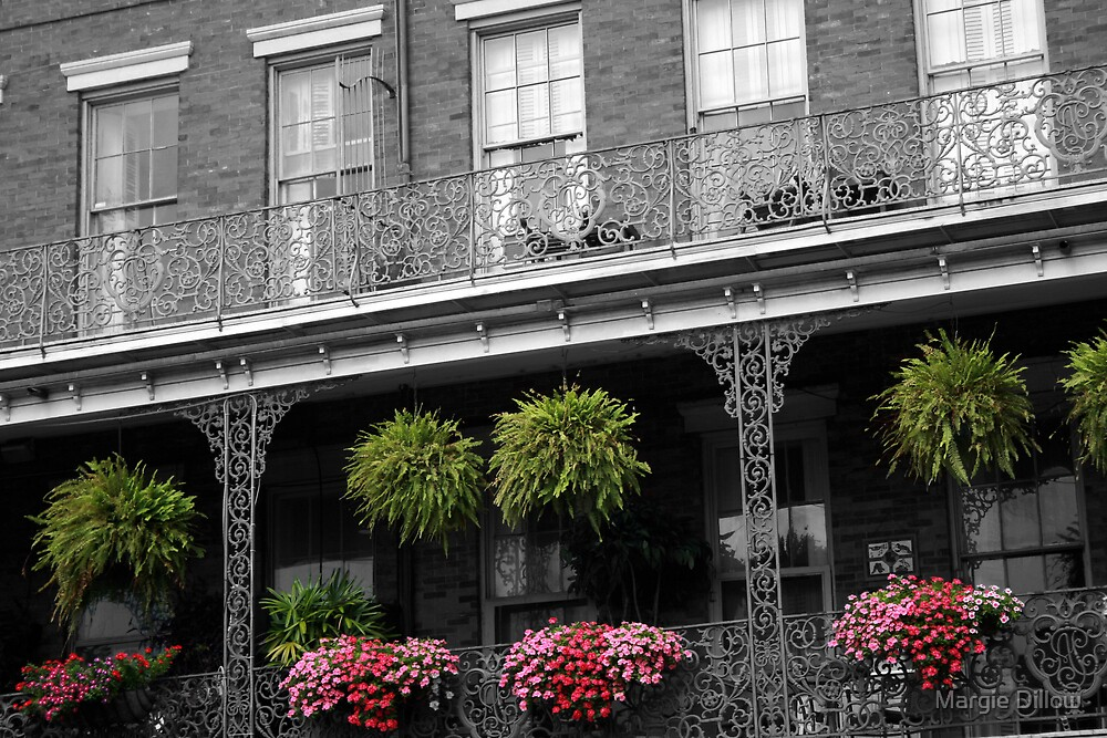 French Quarter by Margie Dillow