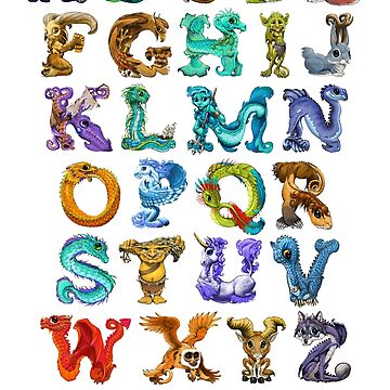 Myth N Letters by SMorrisonArt