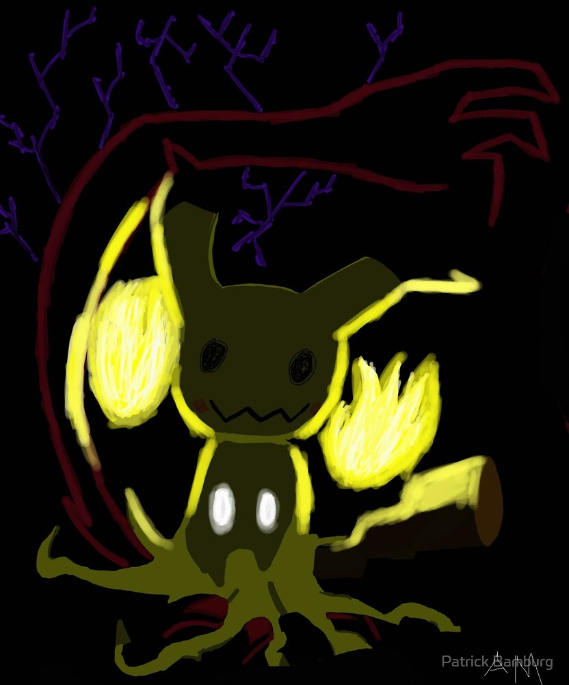 mimikku Pikachu  by Patrick Bamburg