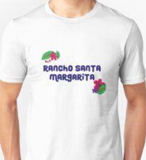 Rancho Santa Margarita with Flowers/ Purple T-Shirt