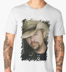 Toby Keith - Celebrity (Oil Paint Art) Men's Premium T-Shirt