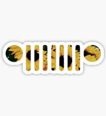 Sunflower Wrangler Grill Sticker
