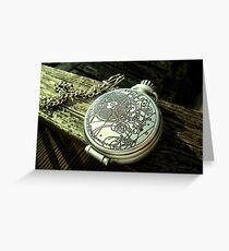 John Smith's Pocketwatch Greeting Card