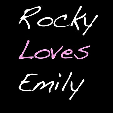 Rocky Loves Emily by MichaelP1985