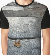 sheet and footprints Graphic T-Shirt