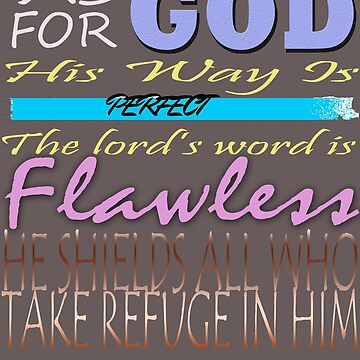 Psalm 18:30 Bible Verse by Roland1980