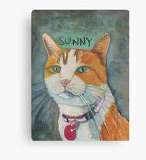 Portrait of Sunny  Canvas Print