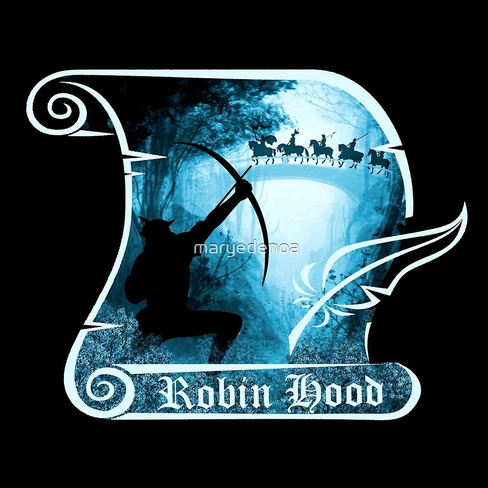 Robin Hood by maryedenoa
