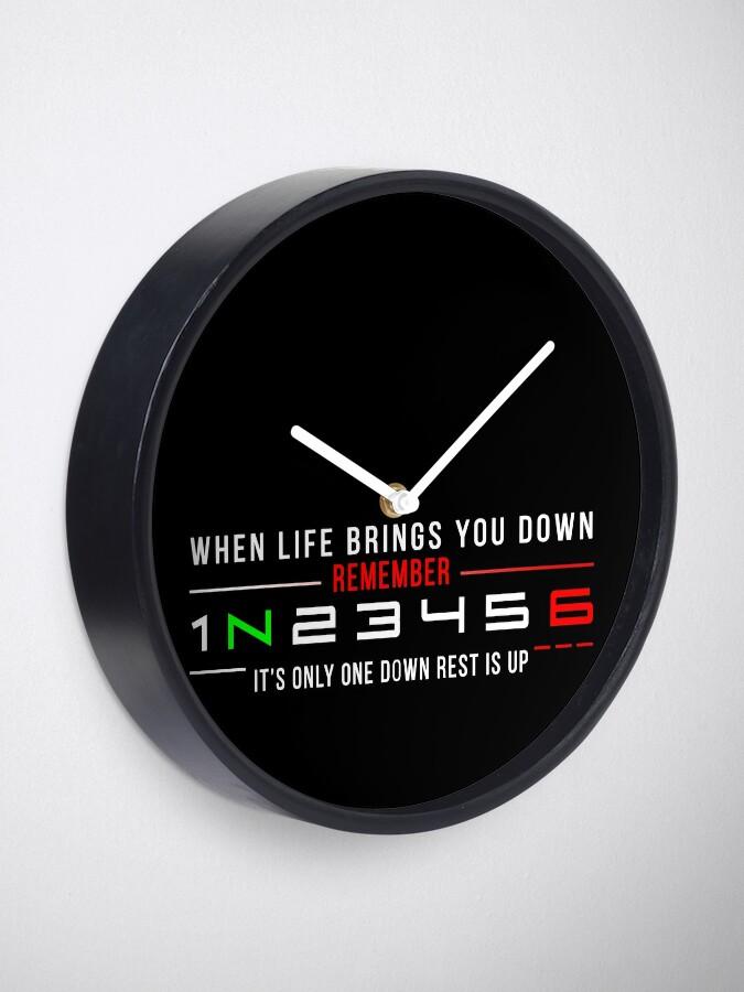 Alternate view of  1N23456 Clock