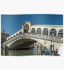 Ponte Di Rialto Poster