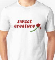 Sweet Creature Rose Design Unisex T-Shirt