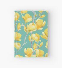 Gelbe Magnolien-Frühlings-Blüte III Notizbuch