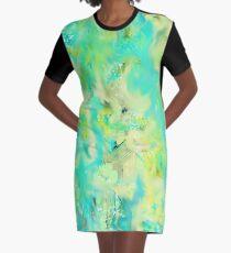 Crisp Graphic T-Shirt Dress