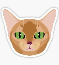 Abyssinian Emoji (Normal) Sticker