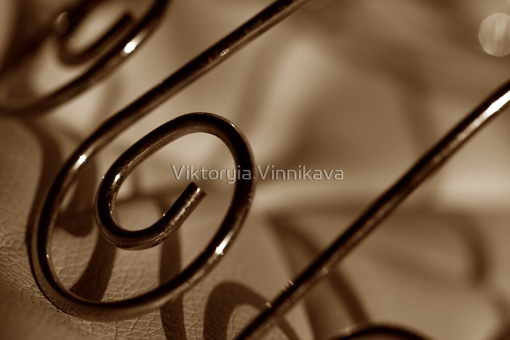 Abstract thing from something very normal by Viktoryia Vinnikava