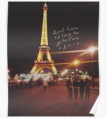 paris the 1975 Poster