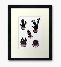 cactus collective Framed Print