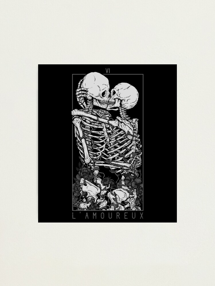 Alternate view of The Lovers Photographic Print